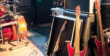 atelier en muziekruimte